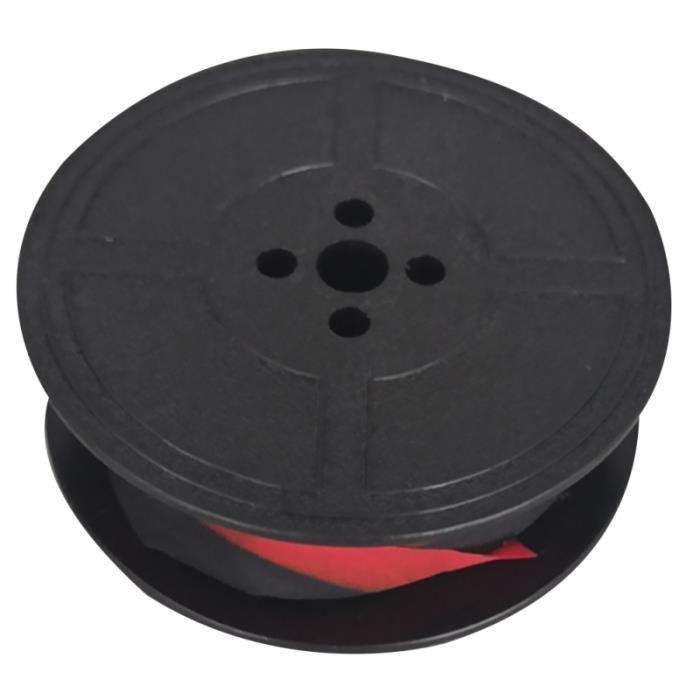 Ruban universel rouge noir compatible pour le ruban d'encre ROVER Typewriter RUBAN THERMIQUE - PAPIER THERMIQUE