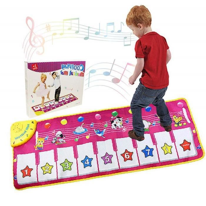 Tapis De Danse Piano Musical Educatif Son Animaux Et Melodies Pour Enfant Bebe