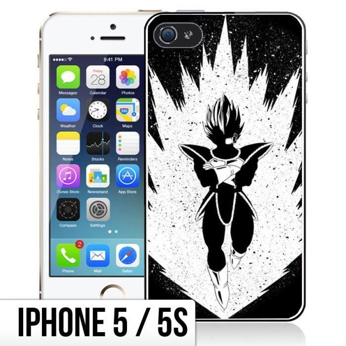 Coque iPhone 5-5S Super Saiyan - Vegeta