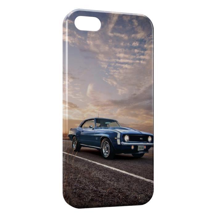 Coque iPhone 6S Plus ( ) Mustang Bleue - Cdiscount Téléphonie