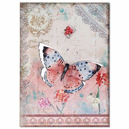 Plaque murale decorative papillon 59x40 cm achat vente for Plaque murale decorative metal