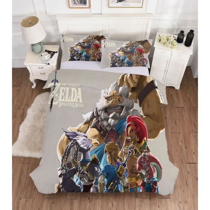 Zelda Parure De Couette 1 Housse De Couette 200 X 230 Cm