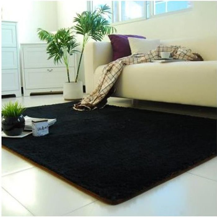 tapis chambre tapis salon carpet d enfant shaggy yoga moquette anti d rapage absorbant velours. Black Bedroom Furniture Sets. Home Design Ideas