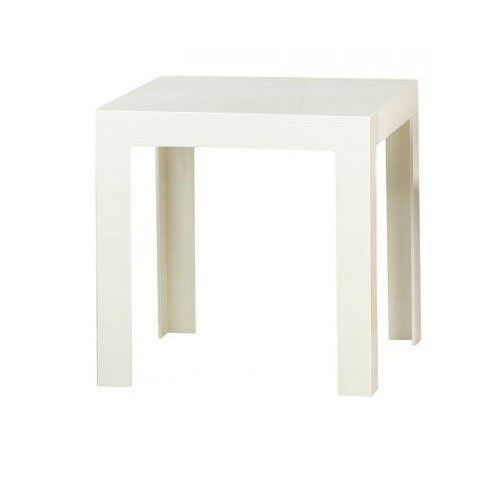 Kartell jolly 8850e5 table d 39 appoint blanc br achat for Table d appoint transparente