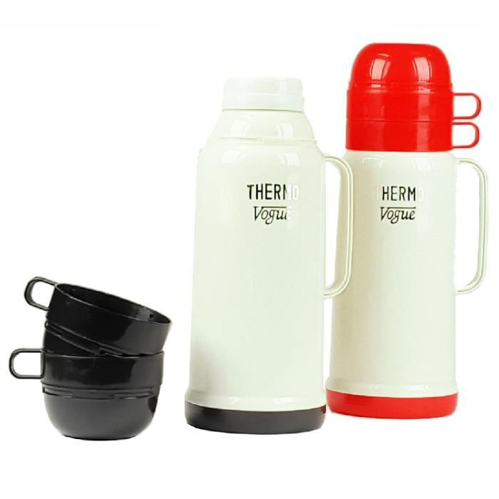 thermos double parois de verre achat vente thermos double parois de verre pas cher cdiscount. Black Bedroom Furniture Sets. Home Design Ideas