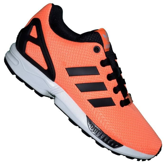Running M19388 01 Adidas Flux Basket Femme Zx Orange Fluo fb76gy