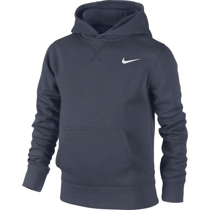 Nike Brushed Sweat shirt à Capuche Garçon HXUOD Blanc