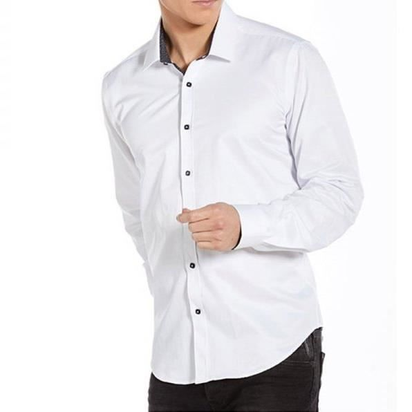 Chemise manches longues homme Benson & Cherry, New