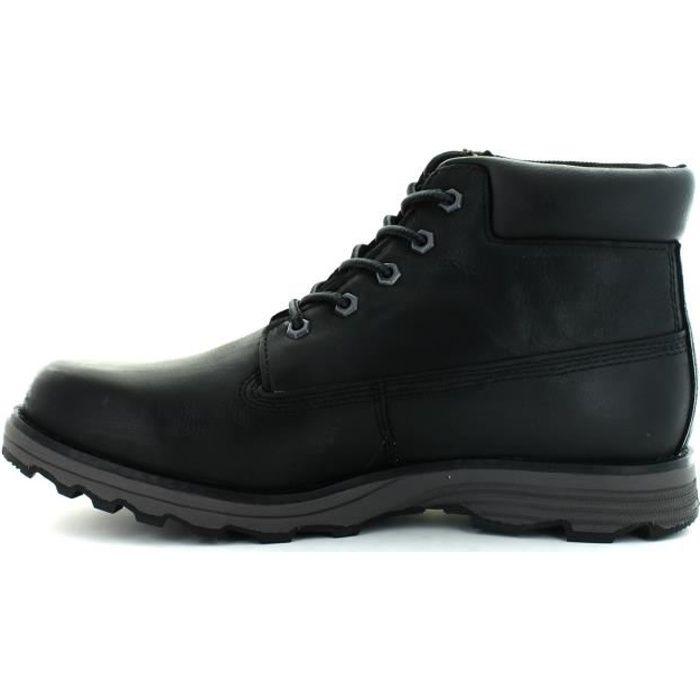 CATERPILLAR Bottines Founder Chaussures Homme Noir
