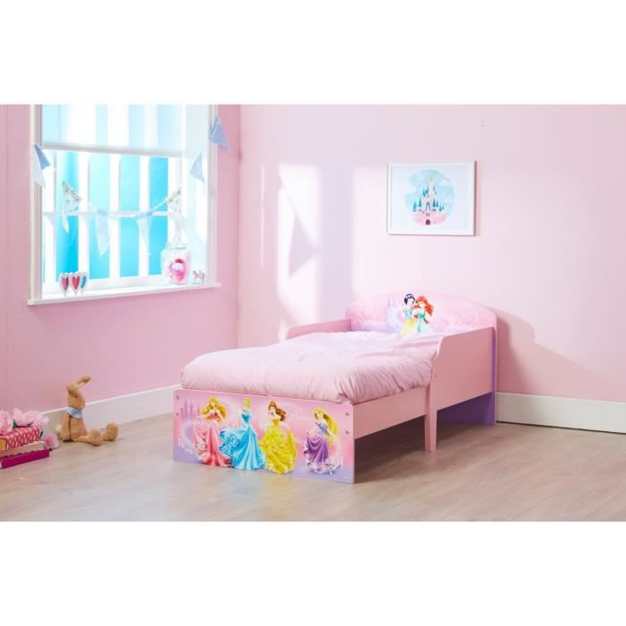 petit lit enfant disney princesse d co chambre 70x140 achat vente lit b b 2009876378822. Black Bedroom Furniture Sets. Home Design Ideas