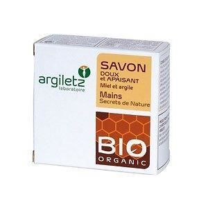 SAVON - SYNDETS Savon Bio argile jaune parfum miel - 100 g