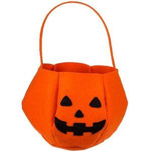 MAQUILLAGE Panier bonbon Halloween citrouille feutre 30 cm TU
