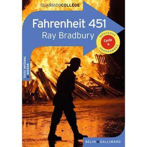 LIVRE SCIENCE FICTION Fahrenheit 451