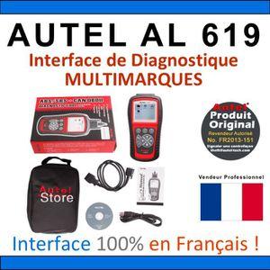 OUTIL DE DIAGNOSTIC Interface Diagnostique AUTO MultiMarques - AUTEL A