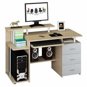 MEUBLE INFORMATIQUE 673952 table de bureau pour ordinateur, table info