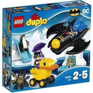 ASSEMBLAGE CONSTRUCTION LEGO® DUPLO® Super Heroes 10823 L'Aventure en Batw