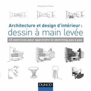 Architecture et design d'intérieur : dessin à main