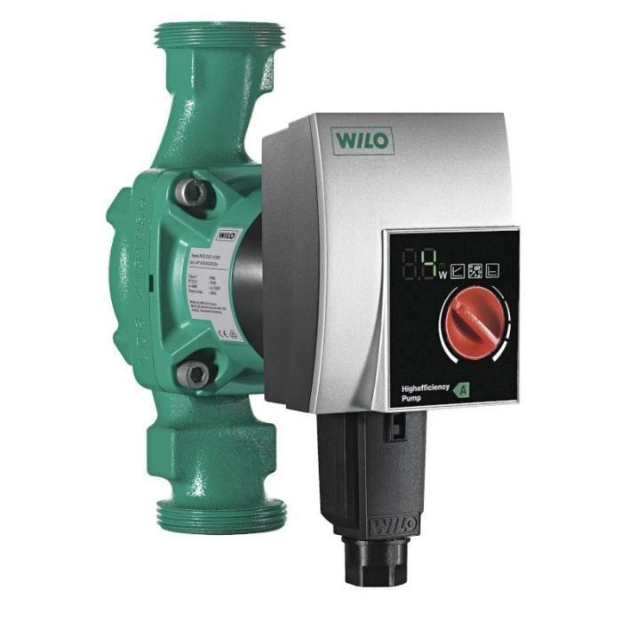 Pompe de chauffage -WILO YONOS PICO- CLASSE A DN25 Hm 1-8 180mm