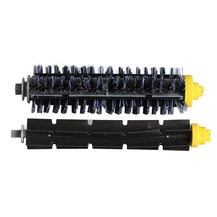 Kit de filtre à brosse latérale à 3 bras pour iRobot Roomba série 600 620630650660 WTX70213487_Gaoqiaoe