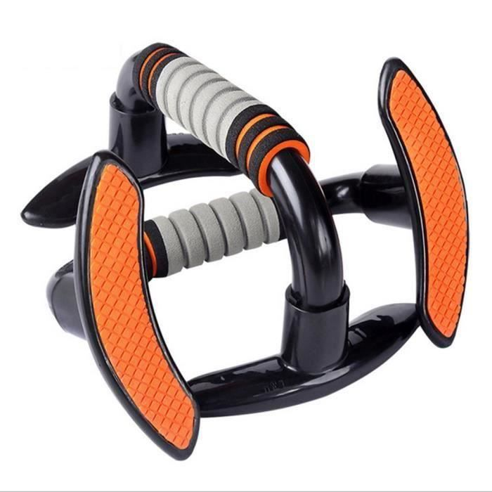 Poignées Pompe Push Up Bars avec Mousse Grip Confort Matériel de Fitness pour Musculation des Bras, Epaules, Poitrine