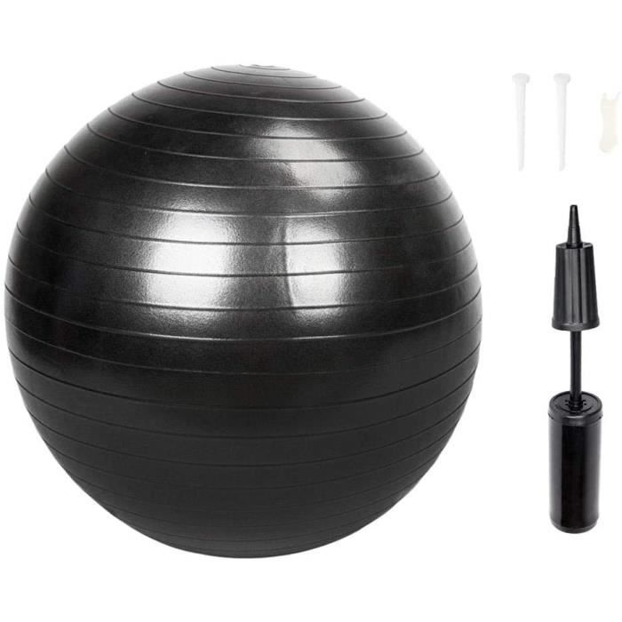 GYM BALL YYI 85cm 1600g Gymmeacutenage antideacuteflagrant eacutepaissir Balle de Yoga Pilates Fitness Balle deacutequilibre Gym511