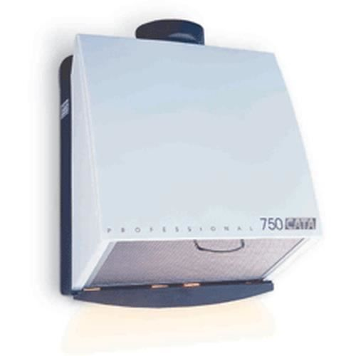 CATA Professional 750 L, 700 m³-h, Conduit, 49 dB, Monté au mur, Blanc, Métal, Plastique