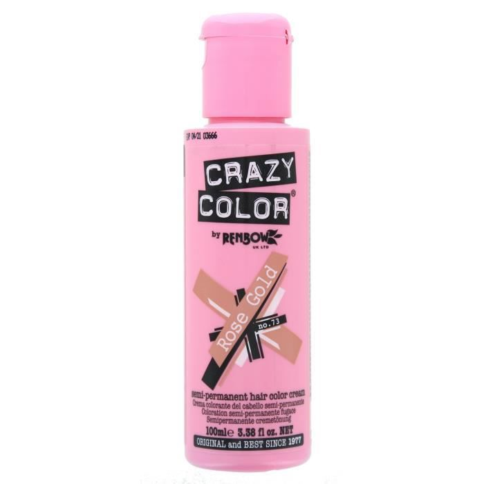 Crazy Color Renbow Coloration Cheveux Crème Semi-Permanent 100ml
