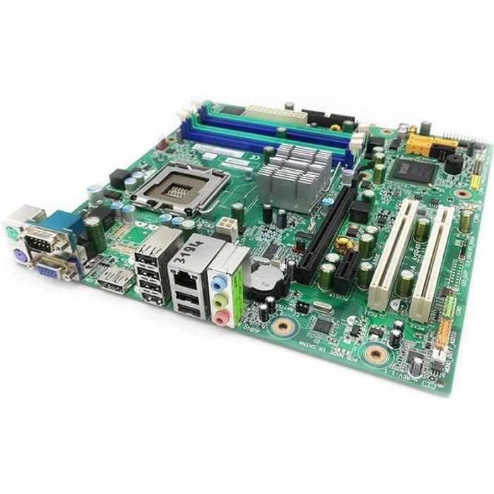 Carte Mère Pc Lenovo M58 L Iq45 Mtq45mk 64Y9766 46R1516 Lga775 Micro Atx