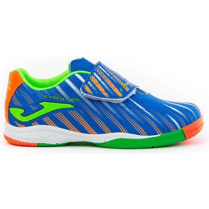 Chaussures de football enfant Joma Indoor EVOLUTION 2004 - bleu royal/vert - 25