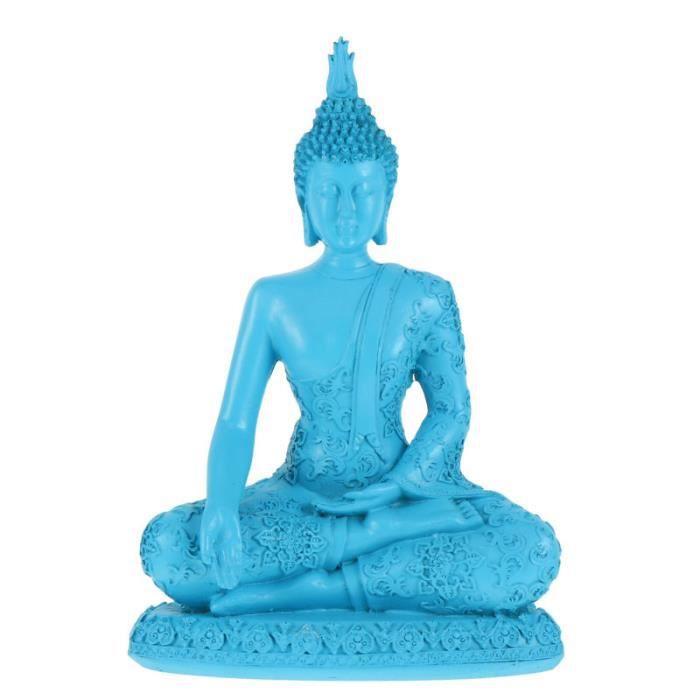 1PC de Bureau Résine Vivid Thaïlande Unique Bouddha État Figurine Sculpture statue - statuette objet de decoration - bibelot