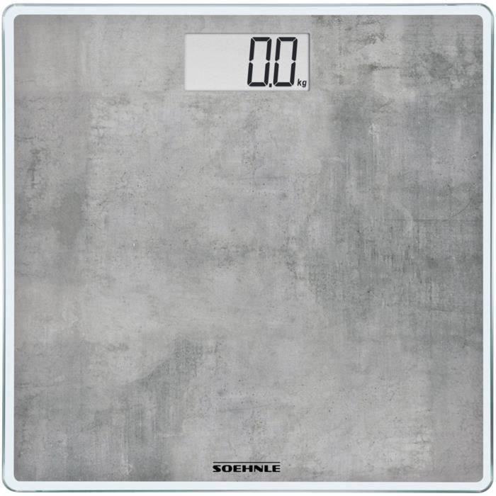 Pèse personne 180kg/100gr Style Sense Compact 300 béton