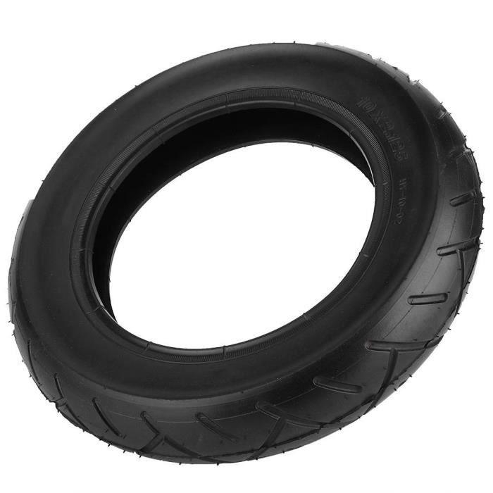 VINGVO Pneu pour mille 10 * 2.125 noir de tube extérieur pneumatique de pneu gonflable pour le scooter électrique de 10 pouces