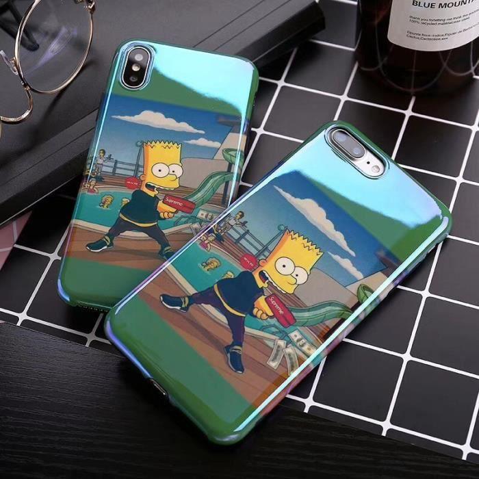 coque iphone 8 les simpson