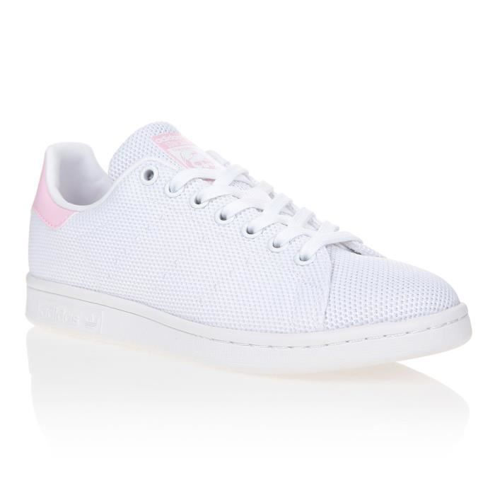 huge selection of df1f8 723fe Stan smith femme blanc