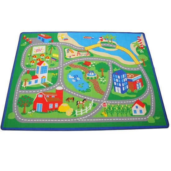 tapis enfant tapis de jeux 150 200cm achat vente tapis. Black Bedroom Furniture Sets. Home Design Ideas