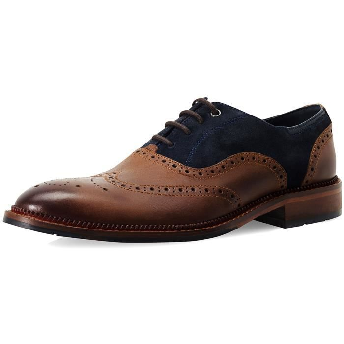 Goodwin Smith Hesket Homme Oxford Mocassin, Beige (Bronzage)