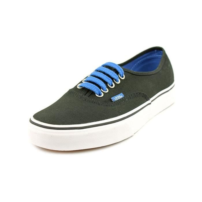 chaussure vans noir brillant