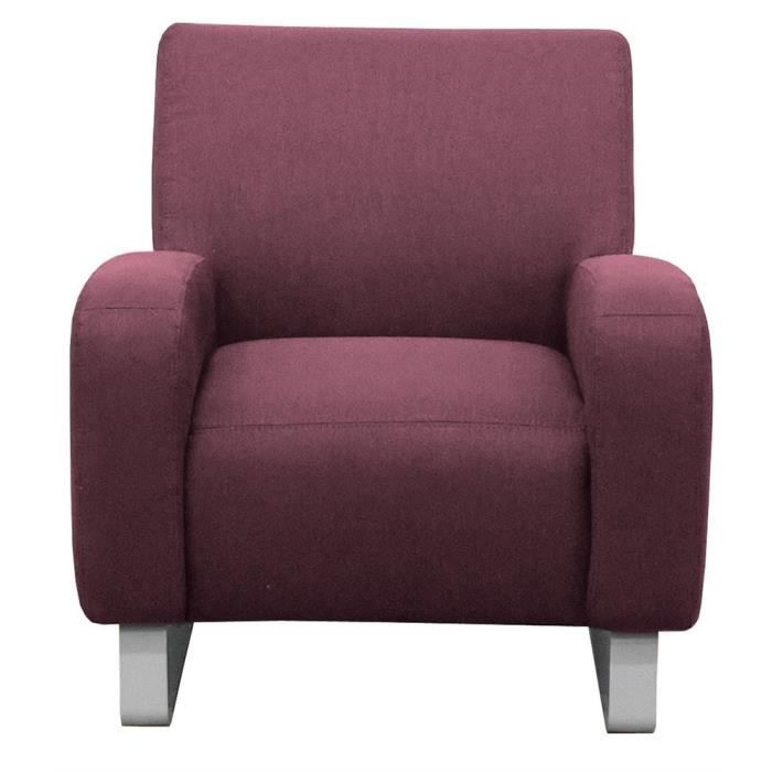 fauteuil switsofa study violet achat vente fauteuil cdiscount. Black Bedroom Furniture Sets. Home Design Ideas