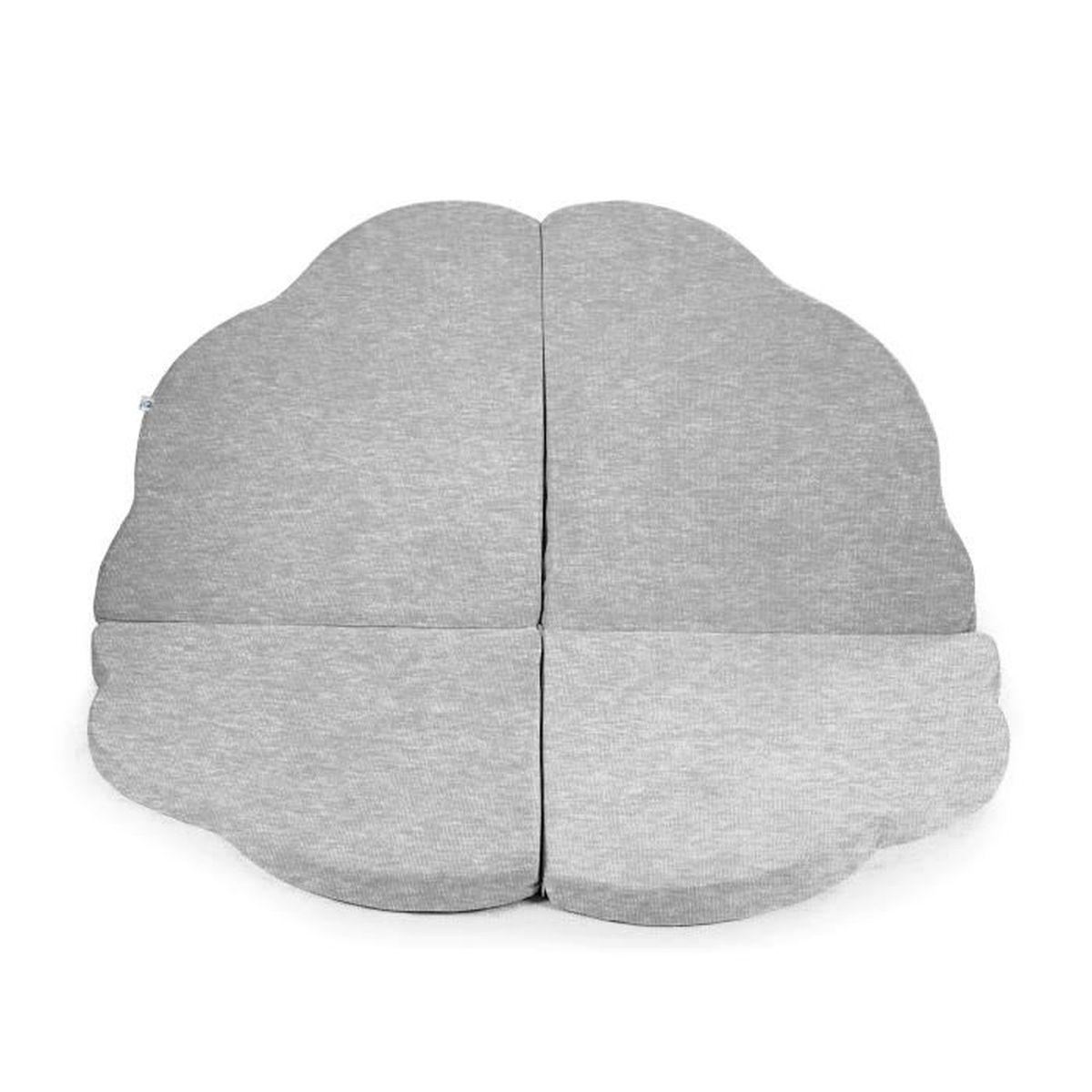 Tapis Chambre Bébé Mixte tapis de sol grey cloud bébé tapis nuage gris gris - achat