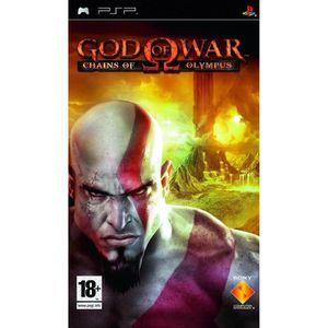 JEU PSP GOD OF WAR CHAIN OF OLYMPUS / Jeu console PSP
