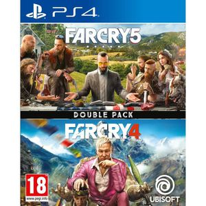 JEU PS4 Compilation Far Cry 4 + Far Cry 5 Jeux PS4