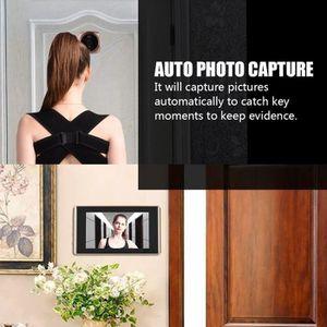 INTERPHONE - VISIOPHONE 2 millions de pixels Caméra judas visionneuse de p