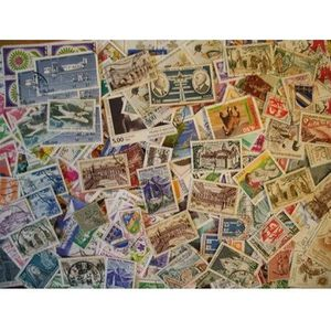 TIMBRE France lot de 300 timbres obliteres tous different