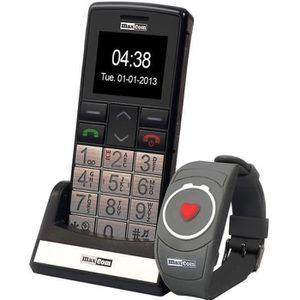 MOBILE SENIOR Téléphone mobile sénior grosses touches MAXCOM MM7