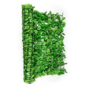 CLÔTURE - BARRIÈRE Blumfeldt Fency Bright Ivy Clôture pare-vue Parave