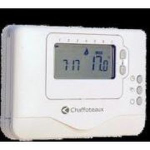 thermostat a pile achat vente thermostat a pile pas. Black Bedroom Furniture Sets. Home Design Ideas