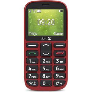 MOBILE SENIOR DORO 1360 Rouge (2G)