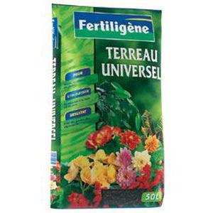 TERREAU - SABLE FERTILIGENE TERREAU UNIVERSEL 50L /NC