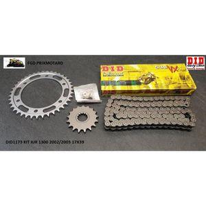 Kit chaine Yamaha XJR1300 SP 02-03 530 Oring Hyper renforcé