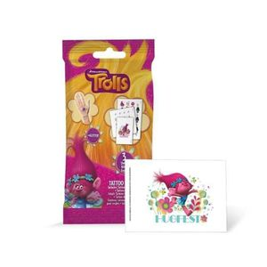 JEU DE TATOUAGE TROLLS Set Tattoos